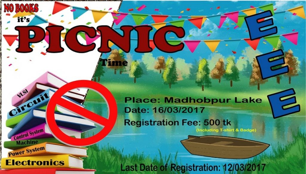 Announcement: Picnic '17 of EEE Department, LU